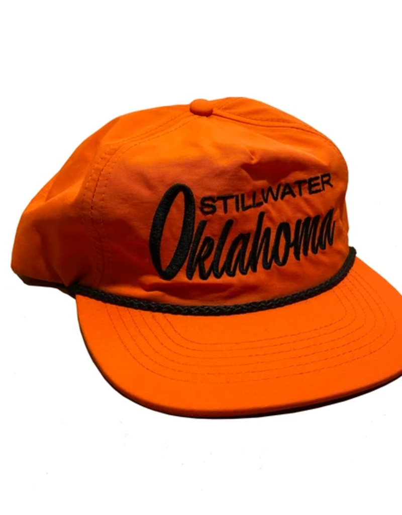 Opolis stillwater rope snapback - orange