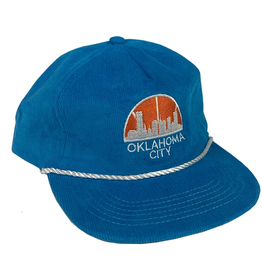 Opolis okc seattle rope snapback - blue