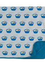 kickee pants illusion blue ramen toddler blanket