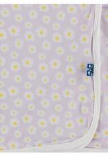 kickee pants thistle chamomile swaddling blanket