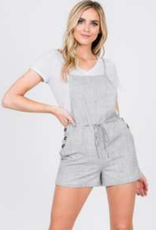 ash side button romper