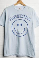 LivyLu america spreads smiles tee