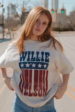 LivyLu willie nelson stars tee