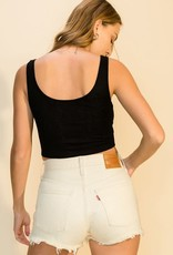 snap front crop tank LC