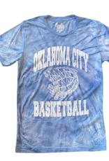Opolis okc basketball tie dye tee