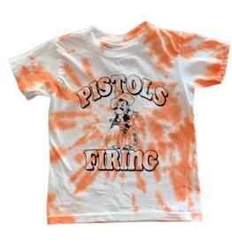 Opolis kids pistols firing pete tie dye tee