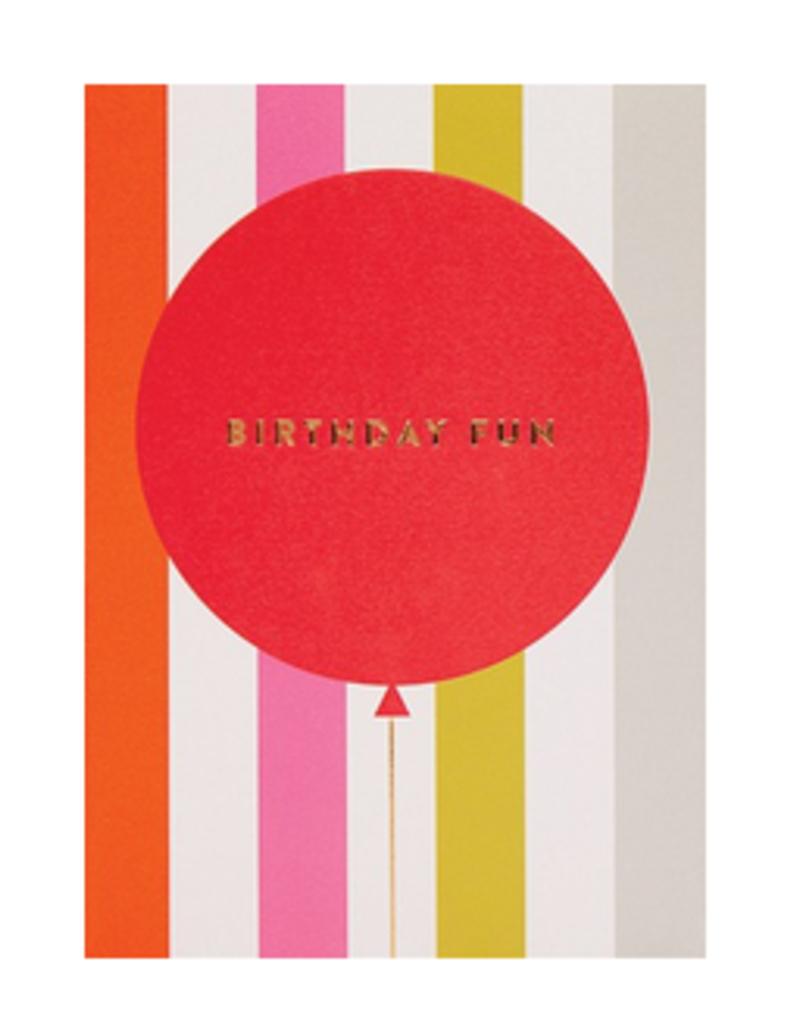 Calypso cards birthday balloon fun card