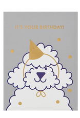 Calypso cards it's your birthday card