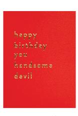 Calypso cards happy birthday handsome devil card