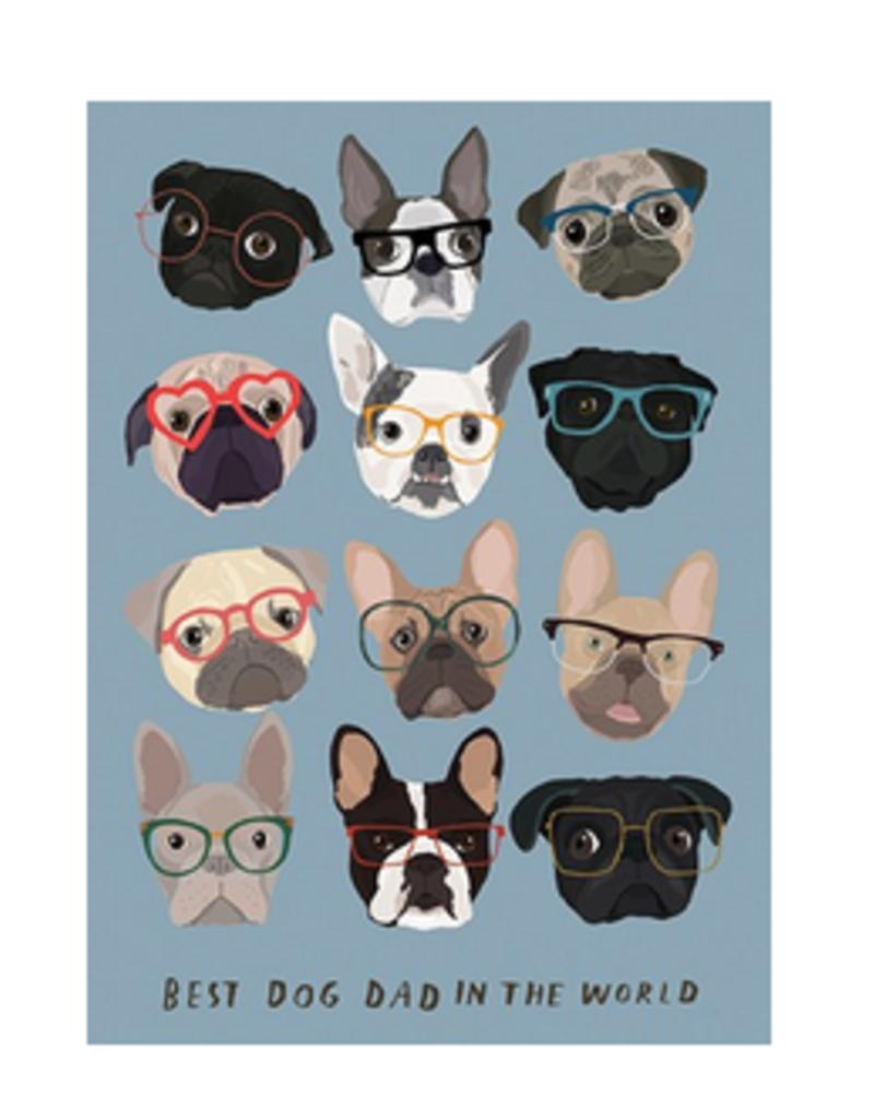 Calypso cards dog dad card
