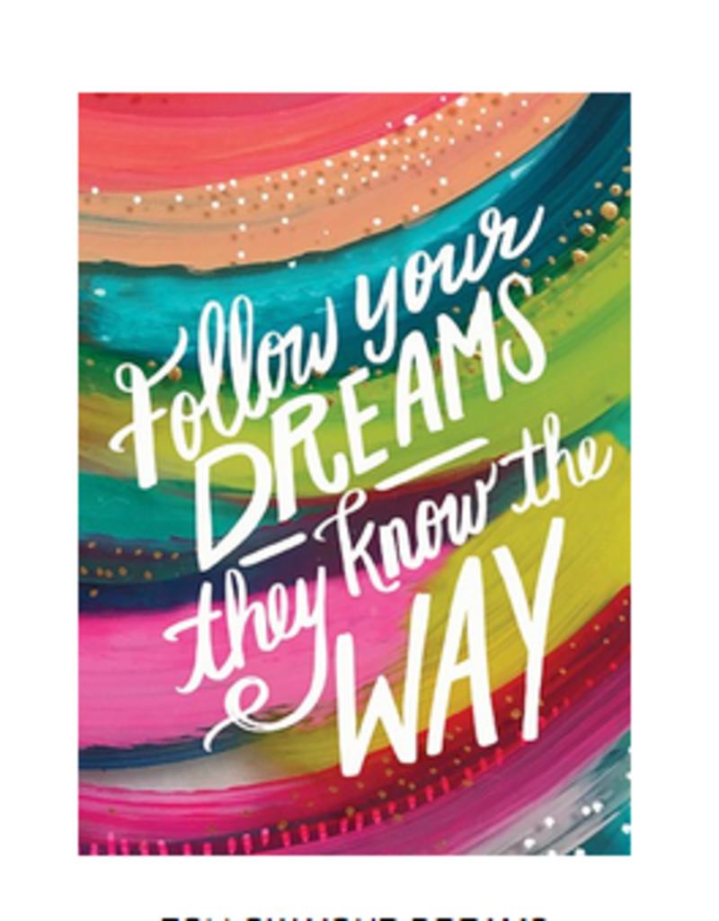 Calypso cards follow your dreams card
