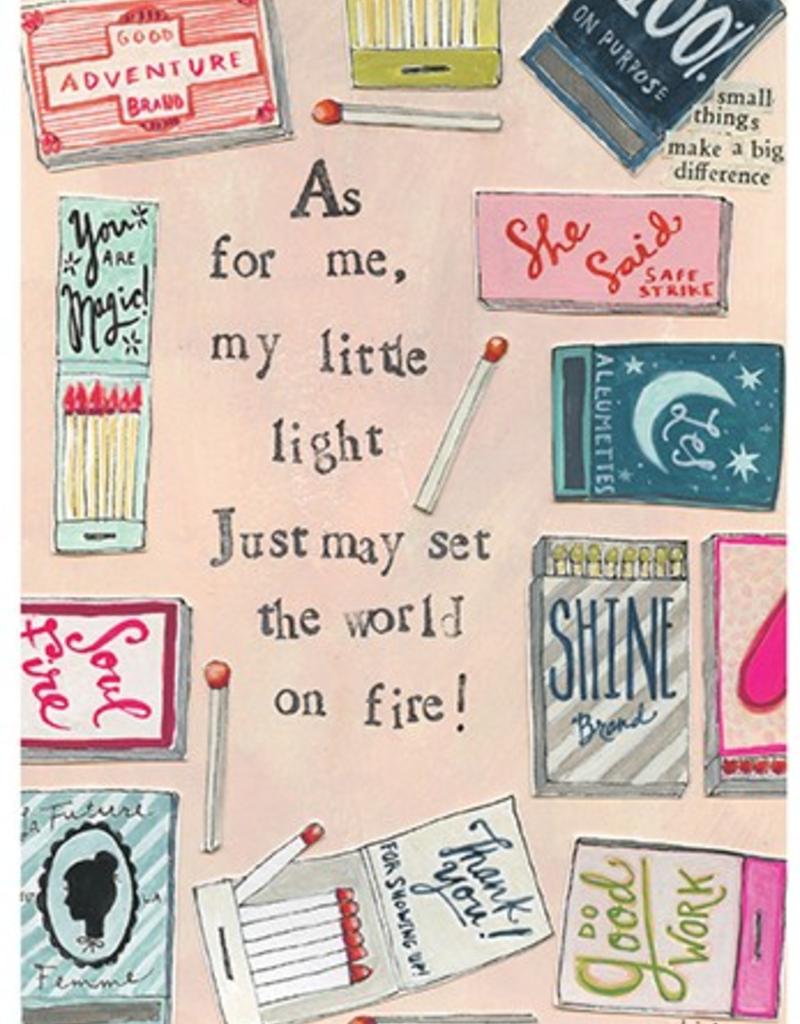 Calypso cards world on fire card