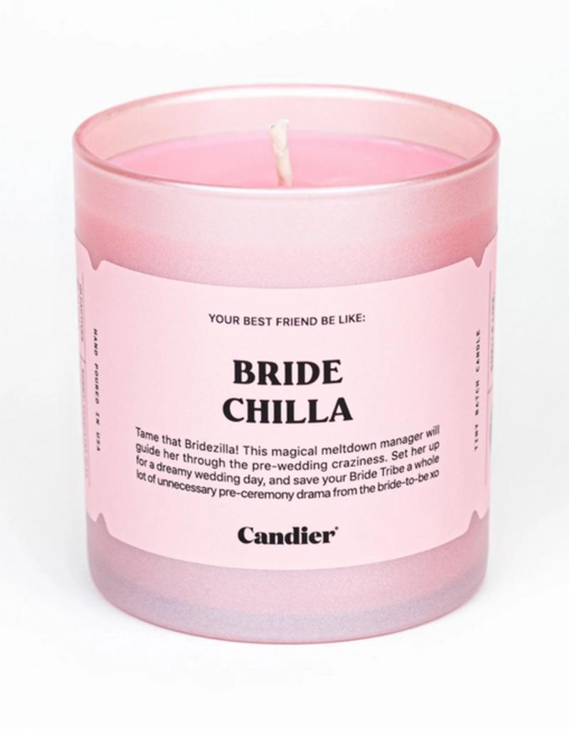 bride chilla candle