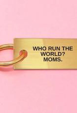 mom rules keychain