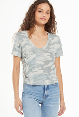 z supply the classic camo skimmer tee