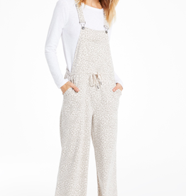 z supply tonal leopard overalls LC