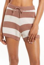 z supply terrace stripe sweater short