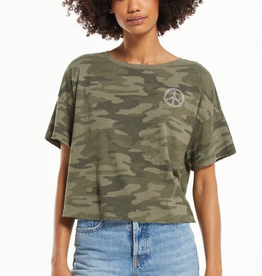 z supply be the peace skimmer tee
