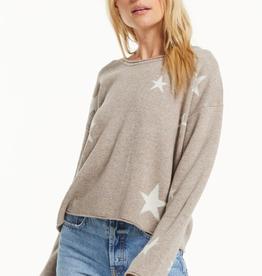 z supply kennedy star sweater LC