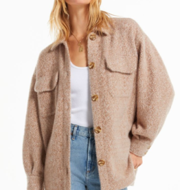 z supply fuzzy trucker jacket
