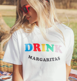 friday + saturday drink margaritas tee