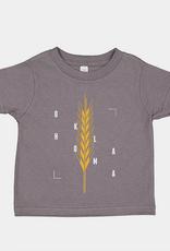 kids golden wheat tee
