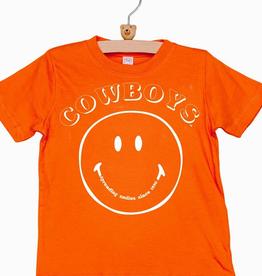 LivyLu kids cowboys spread smiles tee