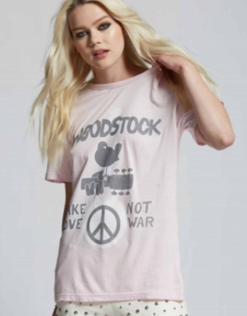 woodstock make love not war tee