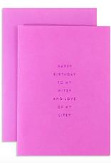 birthday wifey card