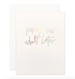 party now card
