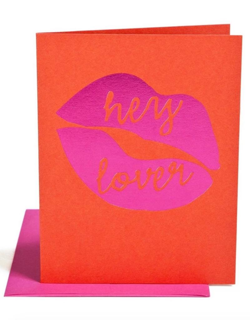 hey lover card