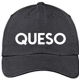 Frankie Jean queso hat - black