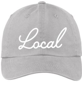 local hat - grey