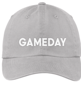 Frankie Jean gameday hat - grey