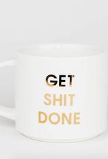 chez gagne get shit done mug