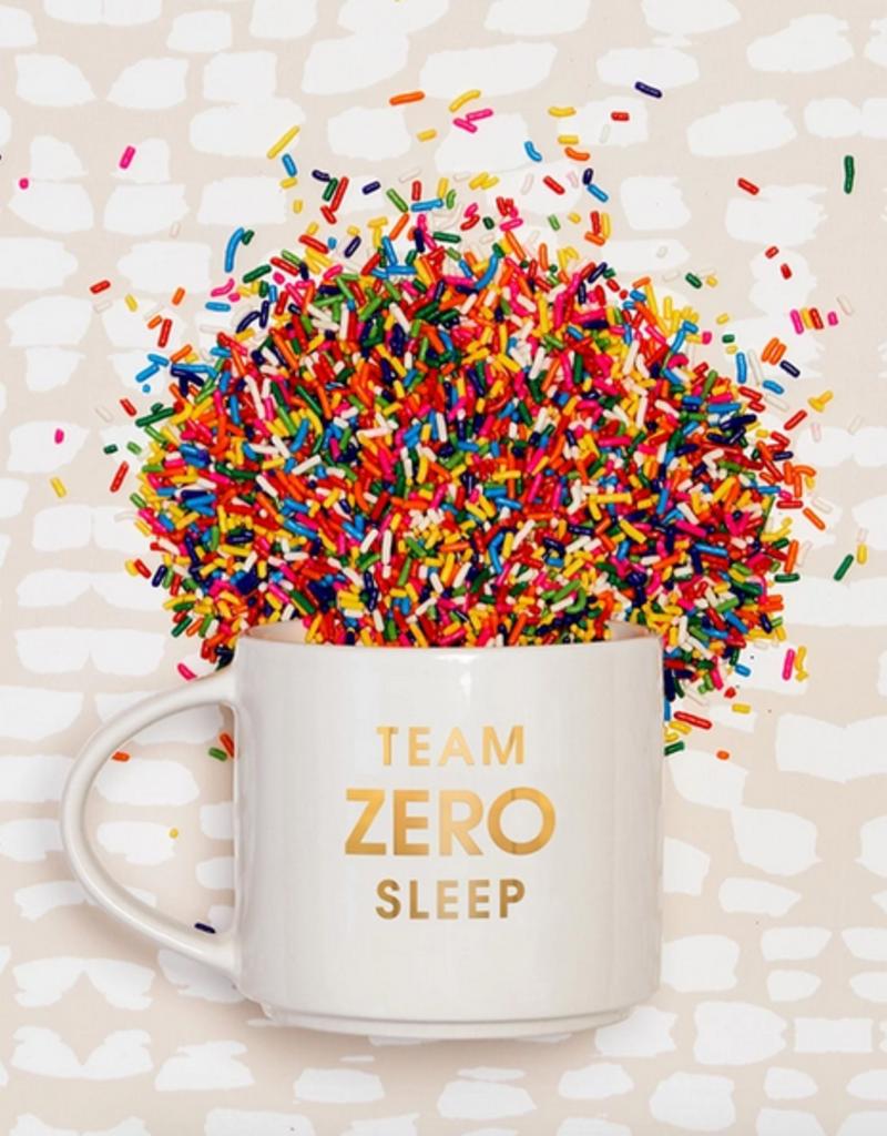 chez gagne team zero sleep mug