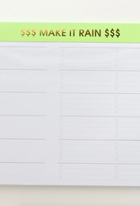 chez gagne make it rain weekly planner