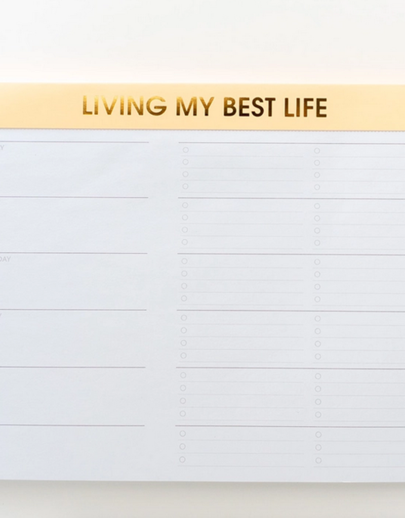 chez gagne best life weekly planner