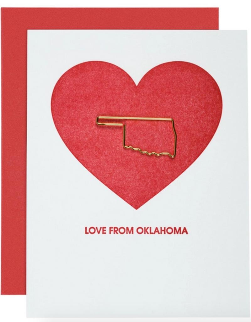 chez gagne love from okla card