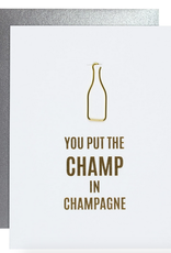 chez gagne champ in champagne card
