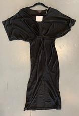 slit front midi dress FINAL SALE