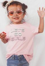 kids lets go girls tee