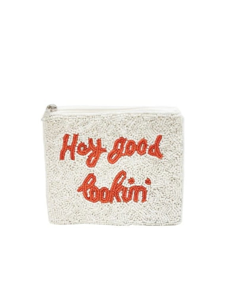 good lookin beaded coin pouch