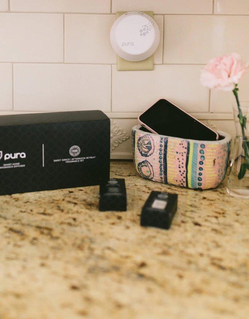 sweet grace & afternoon retreat pura diffuser set