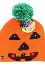 kids halloween light up beanie