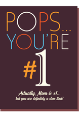 offensive and delightful #1 pops card