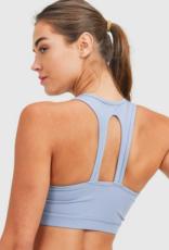 essential twin straps sport bra