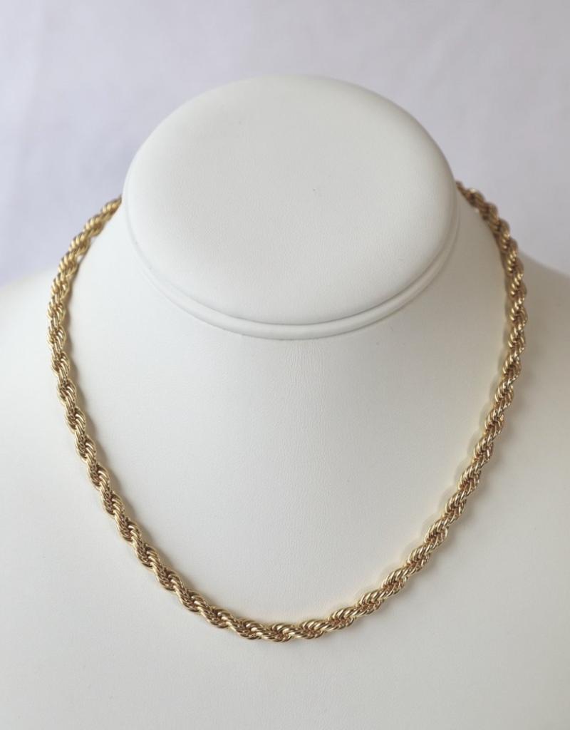 bddesignsandco rope chain necklace