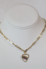 bddesignsandco retro heart necklace