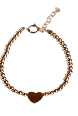 bddesignsandco mini's mini heart bracelet